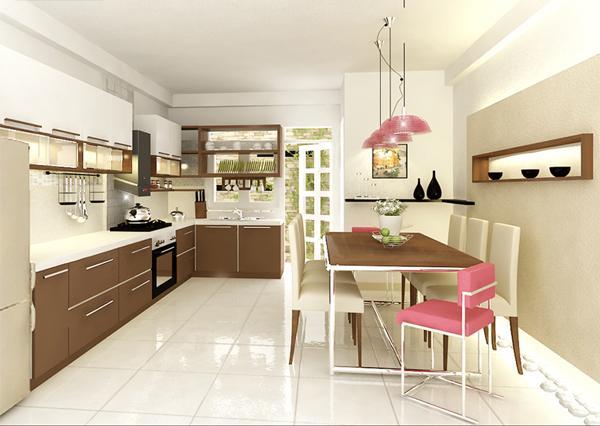 7 cách đơn giản để giúp không gian bếp hẹp thêm đẹp và rộng rãi 1