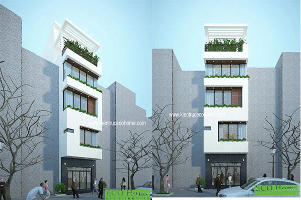 Thiết kế nhà phố tại Bà Rịa