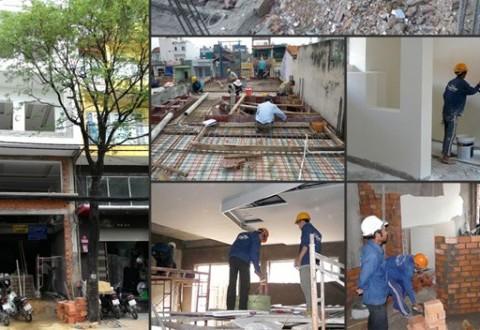 Thi công xây dựng nhà phố trọn gói
