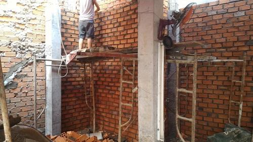 xây tường bao