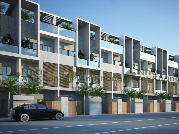 Nhà phố đẹp 5x20m thiết kế hài hòa, thông thoáng