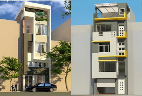 Thiết kế nhà phố mặt tiền 3,5m sang trọng