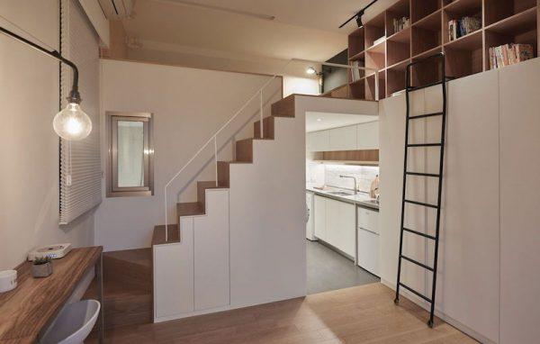Thiết kế cầu thang cho nhà phố hiện đại