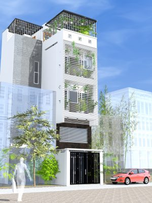 Thiết kế tầng lửng cho nhà phố