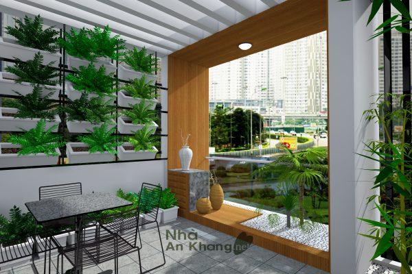 3D View san thuong2