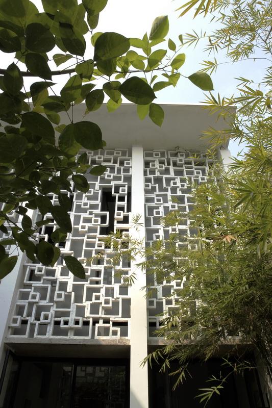 Thiết kế chống nóng cho nhà phố
