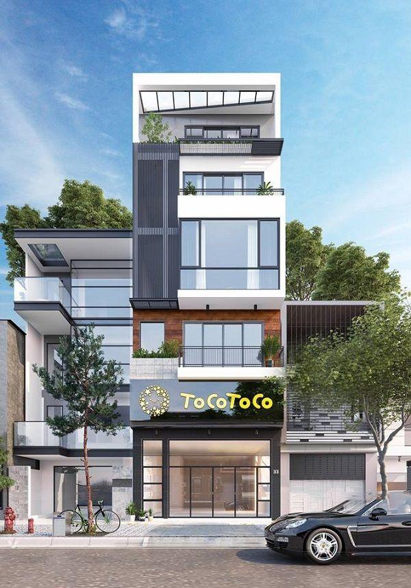 Thiết kế nhà phố để ở và kết hợp kinh doanh