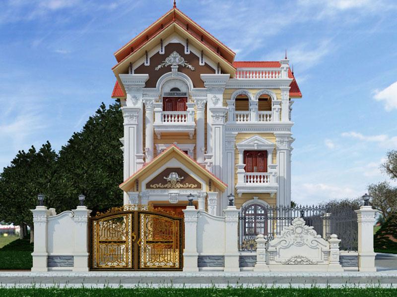 Phong cách cổ điển trong thiết kế nhà phố