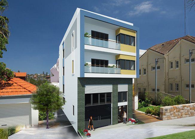 Mẫu thiết kế nhà phố 3 tầng 2 mặt tiền đẹp