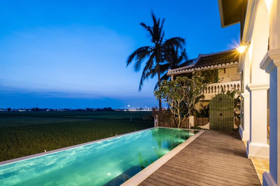 (Review) Mẫu thiết kế Villa đẹp sang trọng kiểu Hy Lạp hiện đại