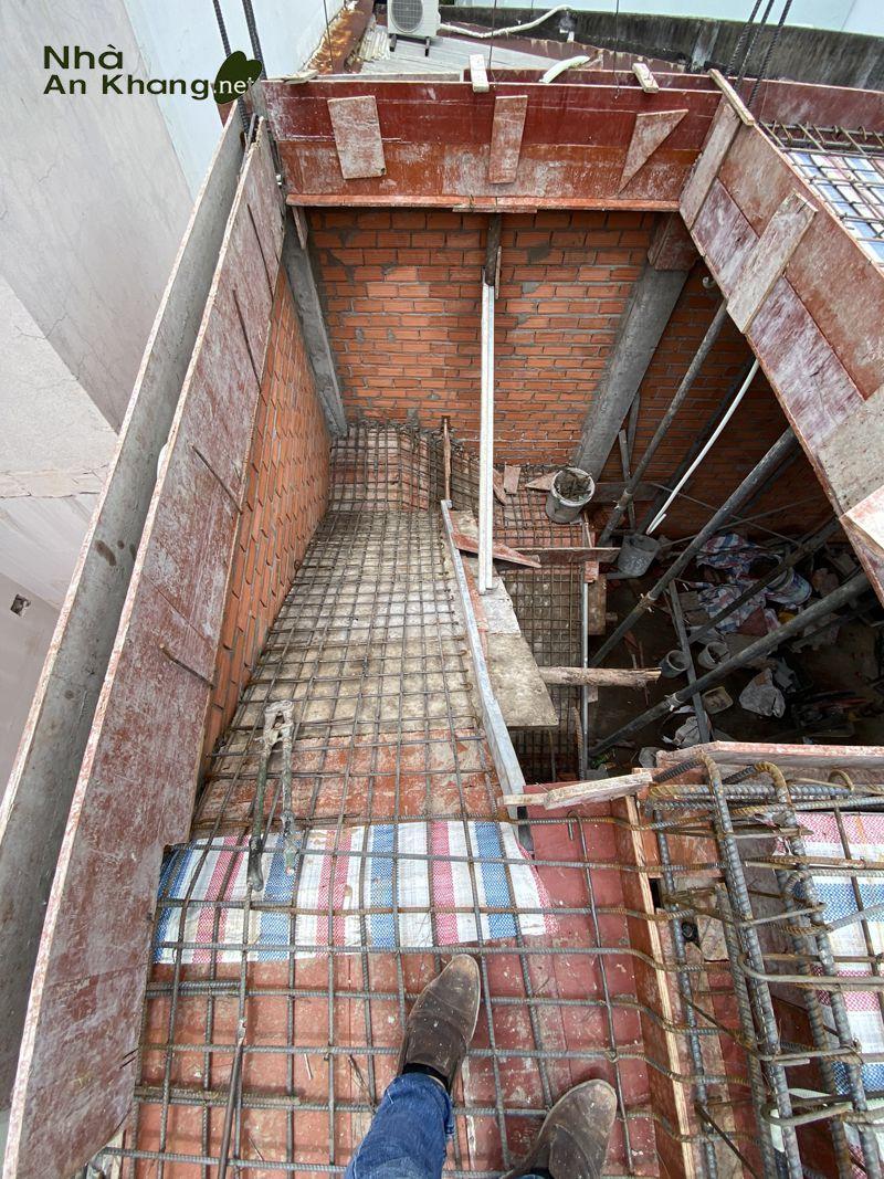 Nhà An Khang Thi Công Trọn Gói Công Trình Nhà Phố 4 Tầng Quận 12