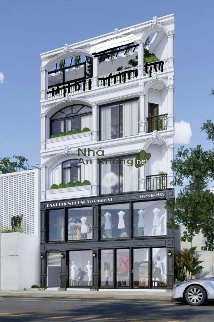 Thiết kế và Thi công biệt thự phố kết hợp kinh doanh