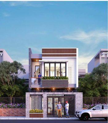 Mẫu nhà phố 2 tầng đẹp diện tích 4m 5m 6m xây dựng nhiều 2021