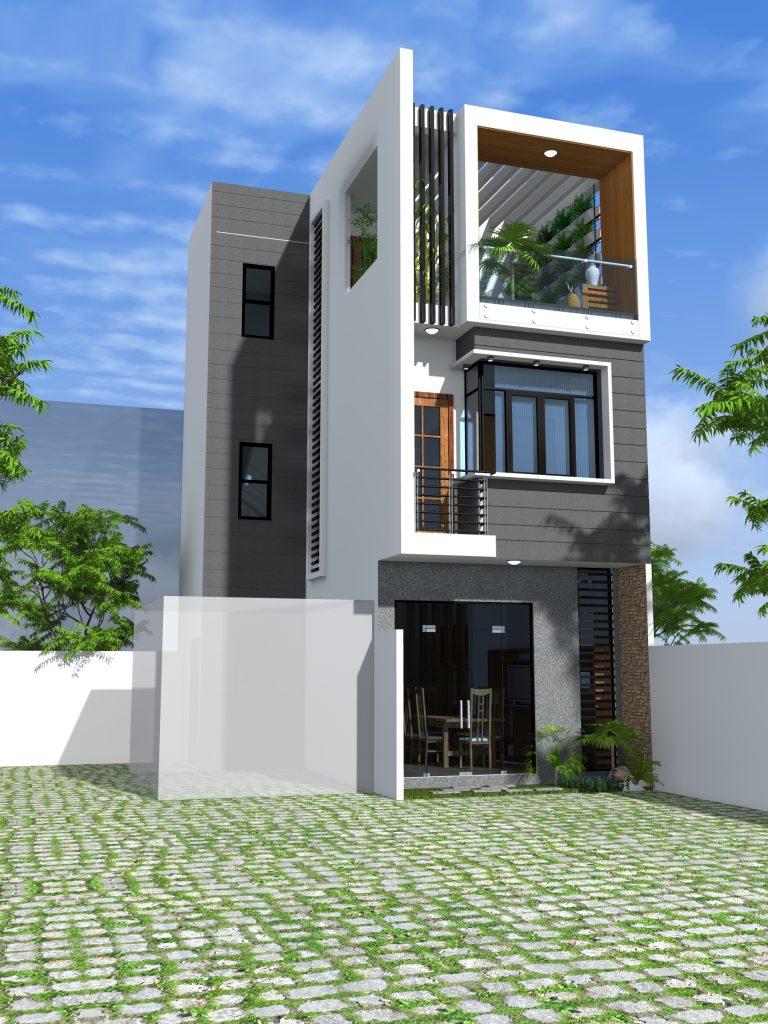 Casa Designer 3d Home Makeover App For Ipad: Thiết Kế Nhà Phố Mang Sắc Xanh