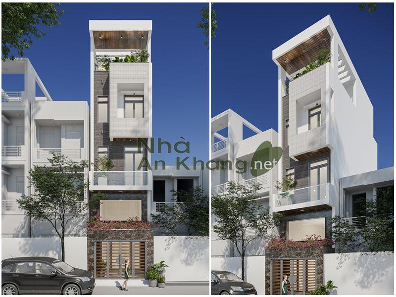 Mẫu thiết kế nhà phố diện tích 4x12m tại quận gò vấp